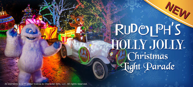 new for 2014 silver dollar city introduces rudolphs holly jolly christmas light parade