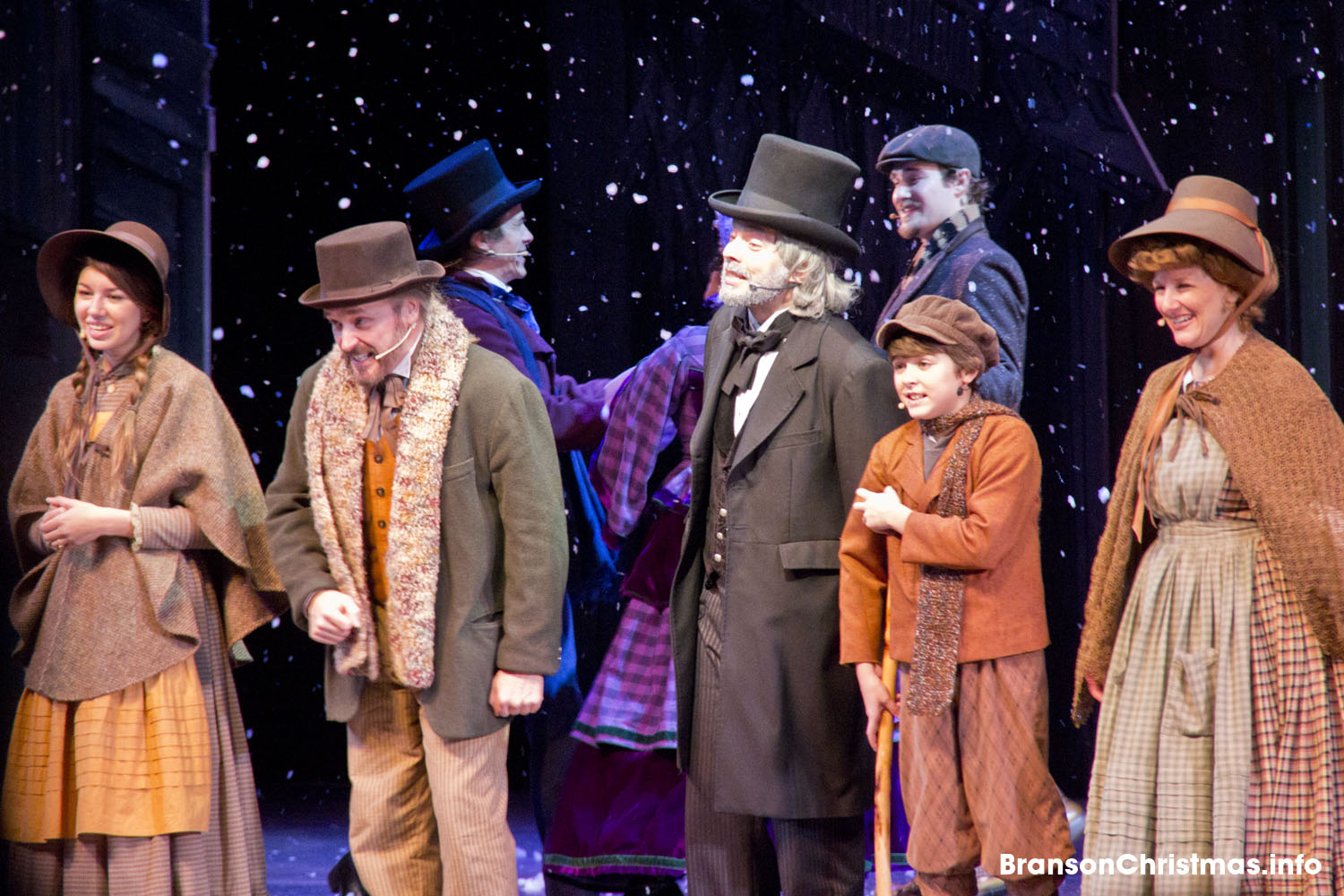 Behind The Curtain The Music Of A Dickens Christmas