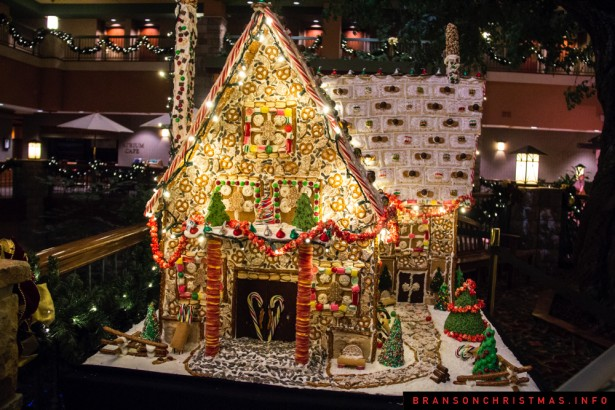 Chateau on the Lake Gingerbread - 1