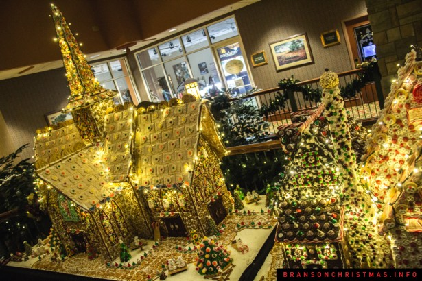 Chateau on the Lake Gingerbread - 11