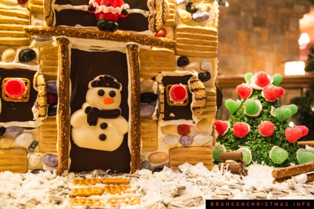 Chateau on the Lake Gingerbread - 8