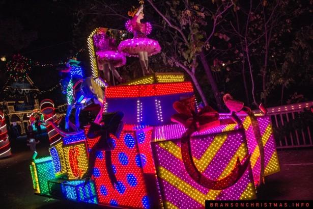 Silver Dollar City Rudolph Parade 2014 - 15