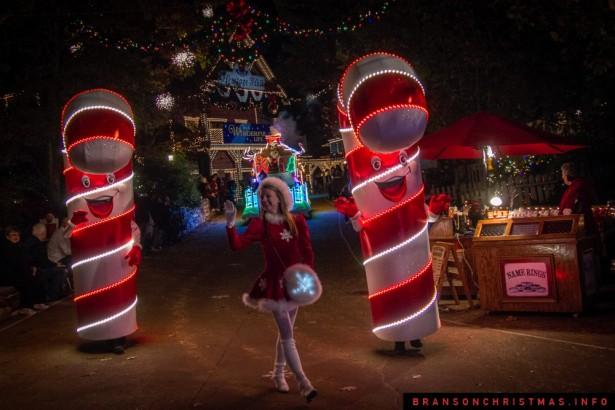 Silver Dollar City Rudolph Parade 2014 - 16