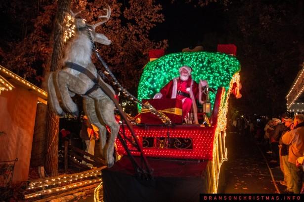 Silver Dollar City Rudolph Parade 2014 - 3