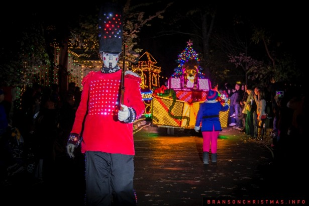 Silver Dollar City Rudolph Parade 2014 - 4