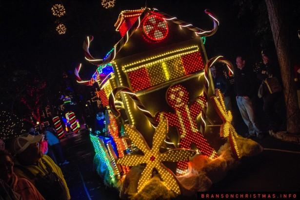 Silver Dollar City Rudolph Parade 2014 - 6