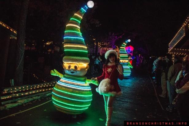 Silver Dollar City Rudolph Parade 2014 - 8