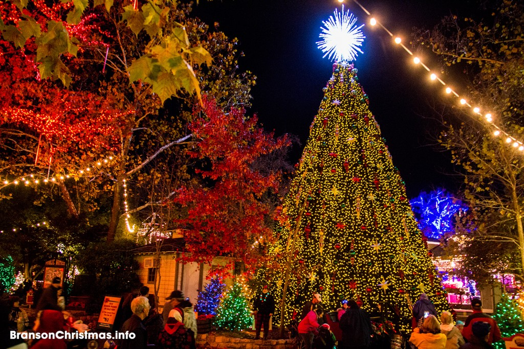 sdc christmas tree square - When Does Branson Mo Decorate For Christmas