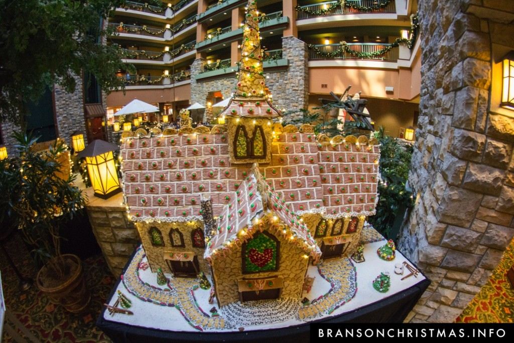 Branson Chateau Gingerbread 2015 13