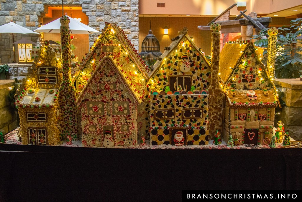 Branson Chateau Gingerbread 2015 5