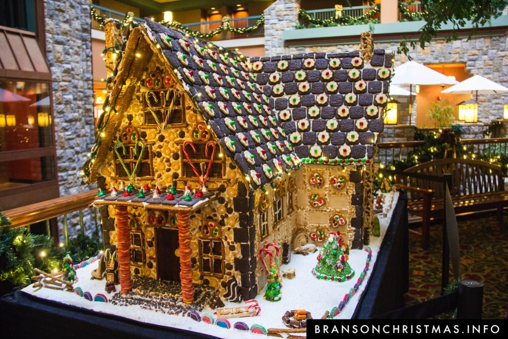 Branson Chateau Gingerbread 2015 7
