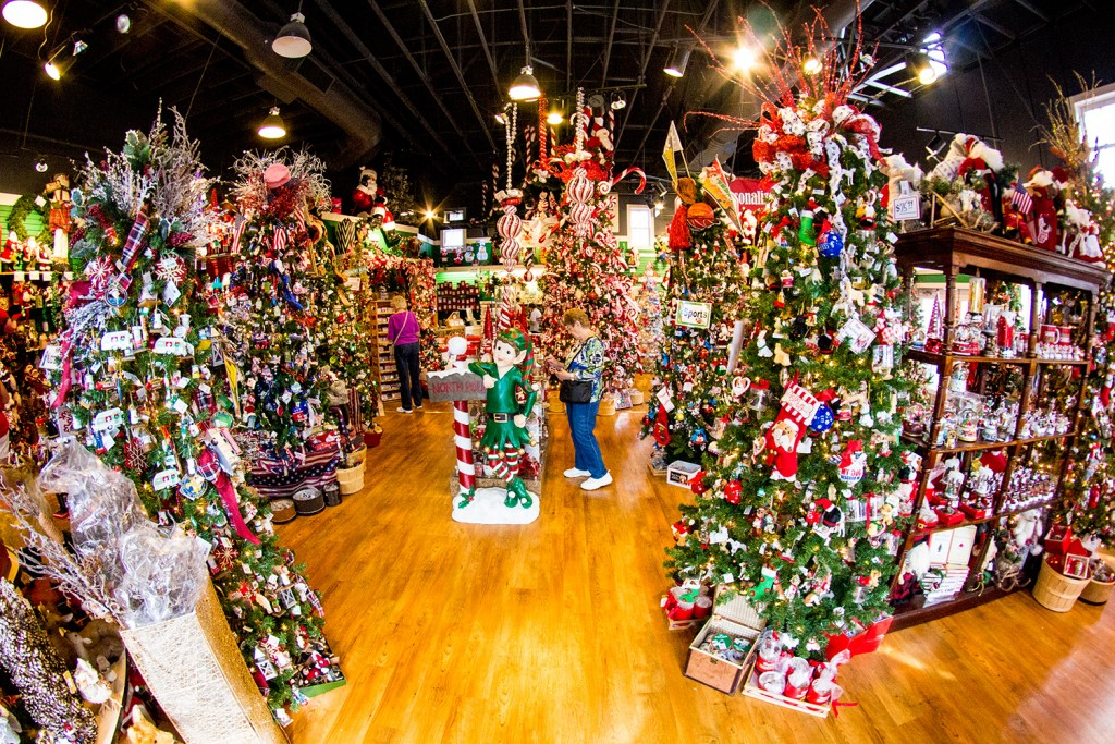 Visit these two year round branson christmas shops for The christmas shop