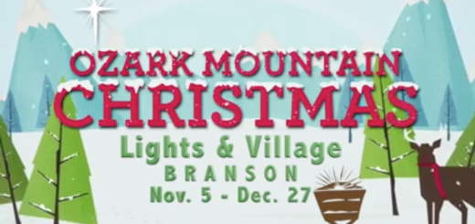 ozark mountain christmas lights village branson 2