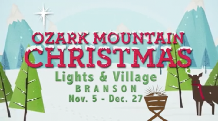 New Ozark Mountain Christmas Lights Amp Village To Debut Nov