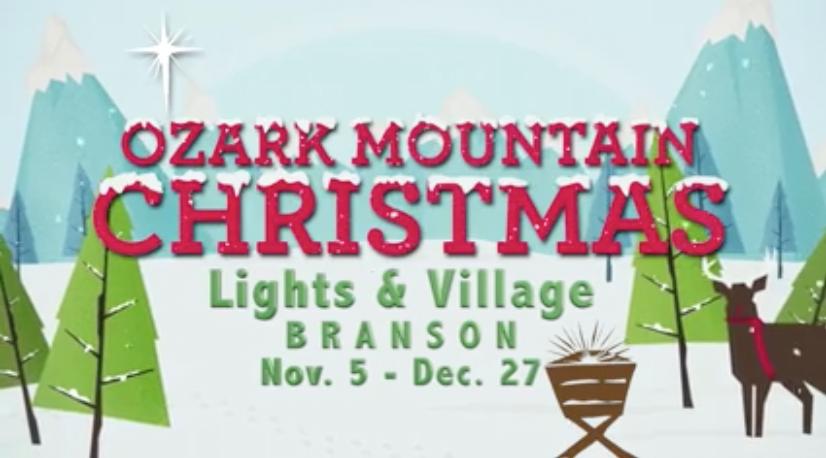 New Ozark Mountain Christmas Lights Amp Village To Debut Nov