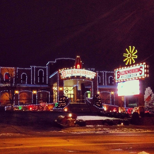 Christmas Lights In Branson