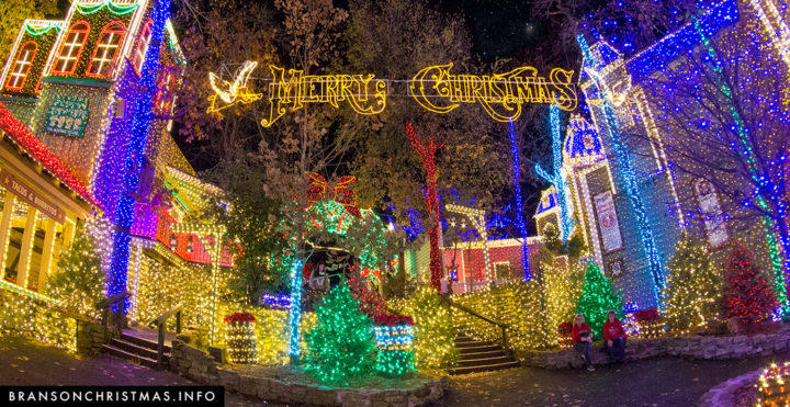 Image result for Silver Dollar City Branson MO Christmas light photos