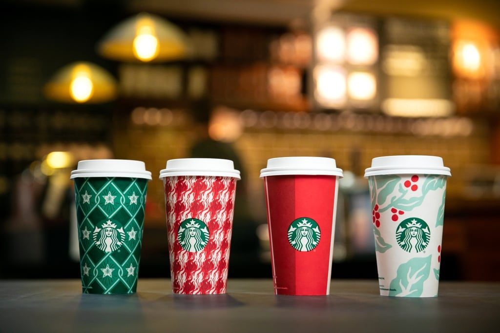 Starbucks unveils 2018 holiday cup designs, new reusable cup